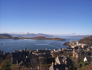 A view of Mull from Oban